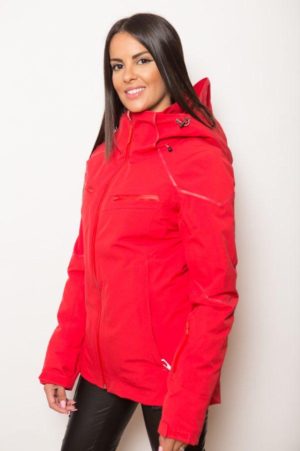 veste de protection 2 roues rouge femme lets ride